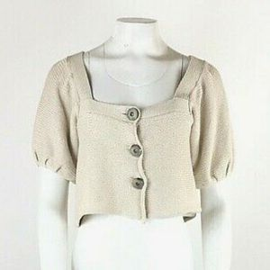 Free People Knit Capelet Cardigan